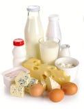 Prodotti lattier-caseario ed uova Immagine Stock Libera da Diritti