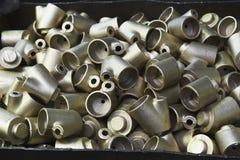 Prodotti metallici Fotografia Stock Libera da Diritti