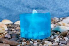 Prodotti naturali di Skincare del sapone Fotografie Stock Libere da Diritti
