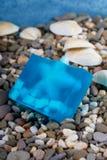 Prodotti naturali di Skincare del sapone Fotografie Stock