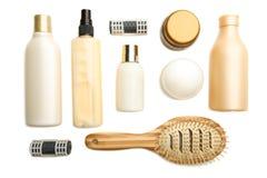 Prodotti per capelli fotografia stock