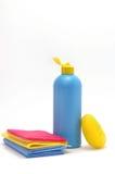 Prodotti per una pulizia Fotografia Stock Libera da Diritti
