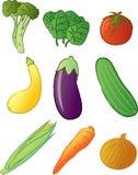 Prodotti - verdure Fotografia Stock