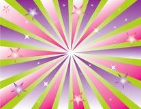 Prodotto astratto dell'illustrazione della stella di colore Fotografie Stock