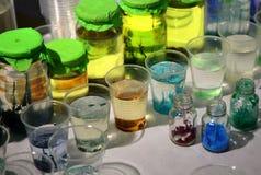 Prodotto chimico in boccetta Immagini Stock