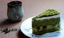 Prodotto del tè verde Immagine Stock