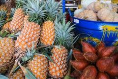 Prodotto di agricoltura della frutta della Tailandia in di mercato Immagini Stock Libere da Diritti