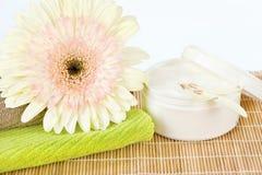 Prodotto di cura di pelle pronto per l'uso immagine stock
