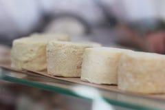 Prodotto ecologico naturale del formaggio Fotografie Stock
