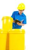 Prodotto industriale del lubrificante e del petrolio Immagini Stock