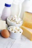 Prodotto lattiero-caseario Fotografie Stock
