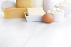 Prodotto lattiero-caseario Immagini Stock