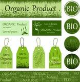 Prodotto organico e naturale eco bio- fotografia stock libera da diritti