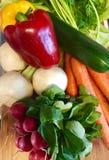 Prodotto-verdure fresche di vegetables Fotografia Stock