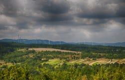 Produção da energia elétrica Fotos de Stock Royalty Free