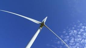 Produção da turbina eólica video estoque