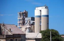 Produção de cimento e de cal Imagens de Stock Royalty Free
