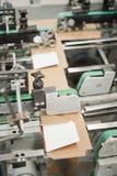 Produção de empacotamento do cartão Imagem de Stock