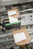 Produção de empacotamento do cartão Foto de Stock