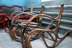Produção de mobília da videira Fábrica de criação do na Imagem de Stock