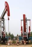 Produção de petróleo imagem de stock royalty free