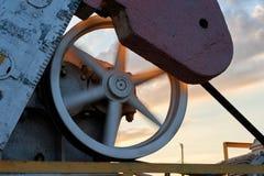 Produção de petróleo e gás fotografia de stock royalty free