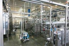 Produção de planta industrial especializada das gorduras e de aditivos de alimento imagens de stock