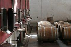 Produção de vinho Imagens de Stock Royalty Free