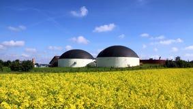 Produção do biogás imagem de stock