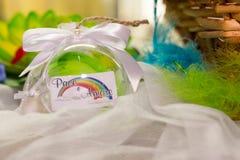 Produção do casamento ou do evento do arco-íris Imagens de Stock Royalty Free