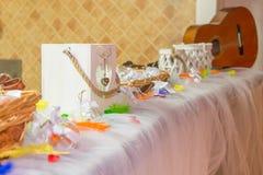 Produção do casamento ou do evento do arco-íris Imagem de Stock Royalty Free