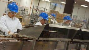 Produção em Ethel M Chocolates Foto de Stock