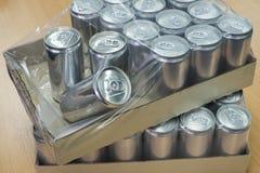 Produção enlatada na caixa da caixa Imagem de Stock