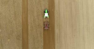 Producción alimentaria 4K de la agricultura almacen de video