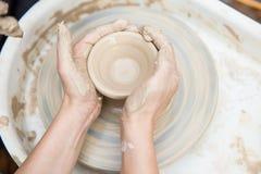 Producción de cerámica Fotos de archivo