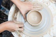 Producción de cerámica Fotos de archivo libres de regalías