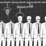 Producción de copias humanas libre illustration