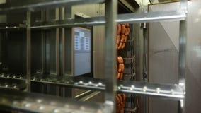 Producción de delicadezas de la carne metrajes