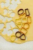Producción de galletas Imagenes de archivo