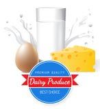 Producción de lechería libre illustration