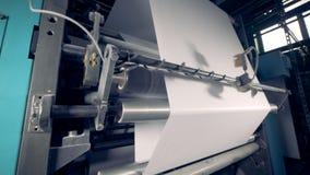 Producción de papel Equipo de reciclaje de papel de la fábrica metrajes