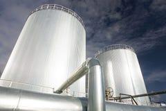 Producción de petróleo y del gas imagen de archivo libre de regalías