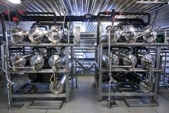 Producción de planta industrial especializada de las grasas y de los aditivos alimenticios imagen de archivo libre de regalías