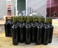 Producción de vino Foto de archivo libre de regalías