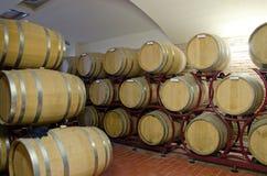 Producción de vino Fotografía de archivo