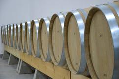 Producción de vino Fotos de archivo