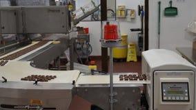 Producción del chocolate foto de archivo libre de regalías