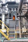 Producción del hierro en fábrica imagen de archivo libre de regalías