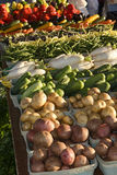Producción del mercado de los granjeros Fotografía de archivo libre de regalías
