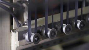 Producción del neumático Cinta de goma en una prensa de batir metrajes